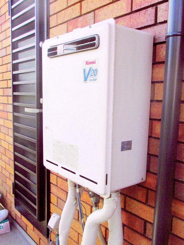 ガス給湯器のリフォーム1
