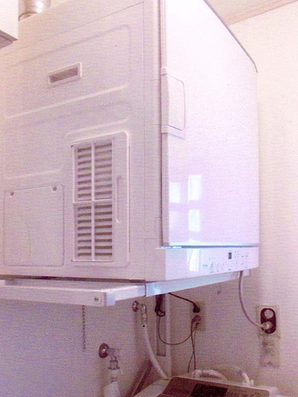 ガス乾燥機の取付3