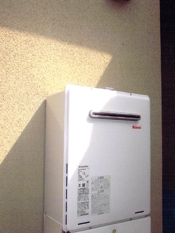 -ガス給湯器のリフォーム3