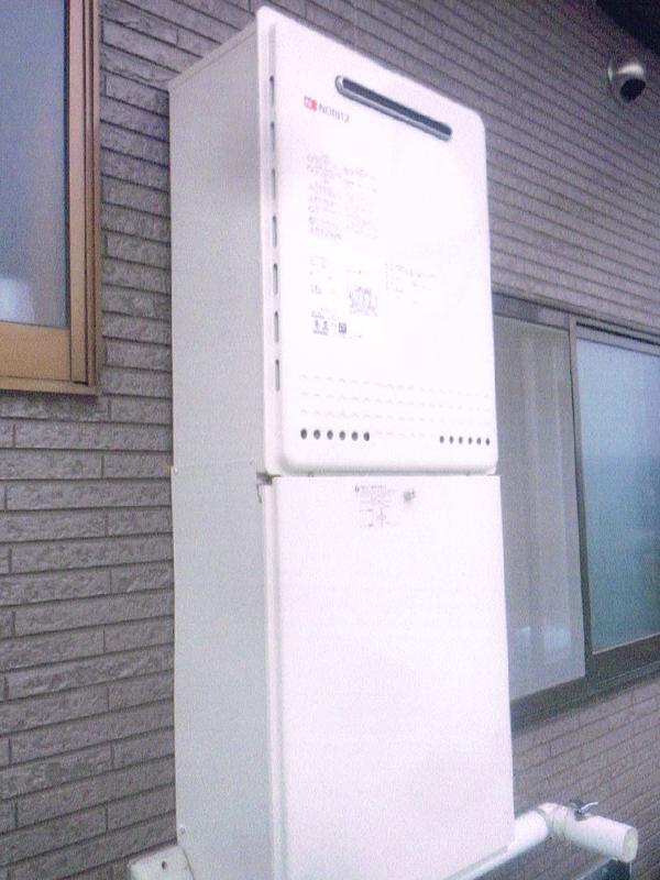 ガス給湯器のリフォーム3