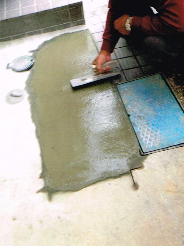 漏水修繕(コンクリート補修あり)のリフォーム3