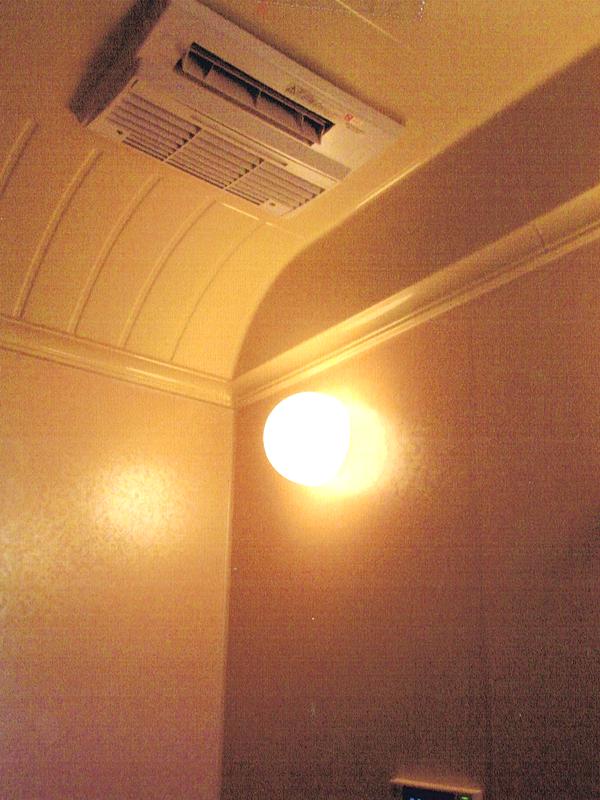 ガス給湯器のリフォーム(給湯暖房熱源機+浴室暖房乾燥機設置)2